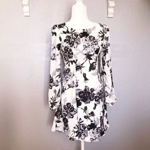 Anthropologie Everly Floral Dress sz XS